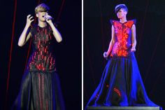 How awesome is this glowing LED gown?