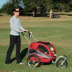 Stroller Trailer For Your Dog - All terrain