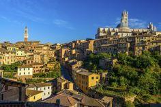 Cityscape, Siena, Tuscany, Italy
