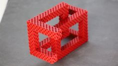 optical illusion - basket (52-56 blocks)