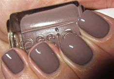 #ManiCrushMonday - Don't Sweater It by Essie. The perfect creamy mauve that is great for fall. It's #ManiCrushMonday again! Neutrals are huge for the fall season. Now I love a good bright nail and...