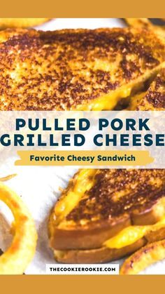 Grilled Sandwich, Grilled Pork, Sandwich Recipes, Pork Recipes, Appetizer Recipes, Dinner Recipes, Cooking Recipes, Grilled Cheeses, Sandwiches For Lunch
