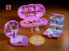 1994 Mattel Polly Pocket Commercial