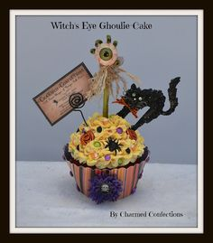 Witch's Eye Ghoulie-Cake by Charmed Confections - for more info go to www.charmedconfections.blogspot.com