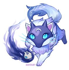 Kindred kitty by: JUSTDUET