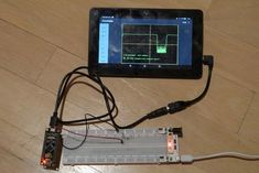 Picture of A $2 Oscilloscope Gaming Setup, Gaming Computer, Projets Raspberry Pi, Raspberry Projects, Simple Arduino Projects, Diy Projects, Open Source Hardware, Arduino Programming, Cheap Phones