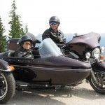 Jasper National Park on a Harley Motorcycle and Sidecar