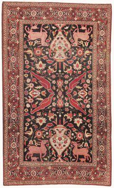 Antique Khorassan Persian Rug #44612 Detail/Large View - By Nazmiyal