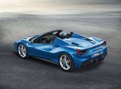 The new Ferrari 488 Spider. #luxury #carleasing
