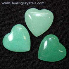 Hearts - Green Aventurine Heart- Green Aventurine - Healing Crystals