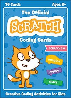 Natalie Rusk new books Scratch Coding Cards: Creative Coding Activities for Kids EPUB Creative Activities, Stem Activities, Activities For Kids, Creative Kids, Teaching Kids, Kids Learning, Visual Programming Language, Programming Tools, Computer Coding