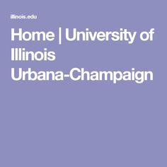 Home   University of Illinois Urbana-Champaign