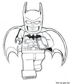 Print out The Avengers Lego Batman Coloring Pages - Printable Coloring Pages For…