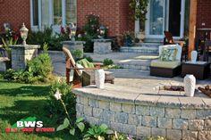 Best Way Stone > Wall & Columns: Parkwall Antico (Beige Mix). #outdoor #garden #wall