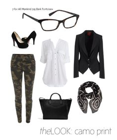 Whether integrated in key wardrobe pieces or accessories, camouflage prints provide a great opportunity to weave pattern into your look. Look One Camouflage pants. Fall Winter Outfits, Autumn Winter Fashion, Spring Outfits, Camouflage, Camping Outfits For Women, Casual Outfits, Cute Outfits, Camo Pants, Pants Outfit
