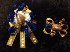 DIY Homecoming Mum Ring and matching bow! ~Stephanie Hopgood-Rhynes