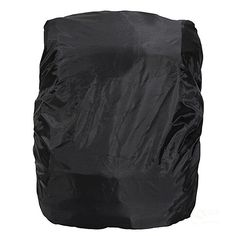 Tinksky Foldable Outdoor Camping Hiking Waterproof Dustproof Travel Backpack Rucksack Rain Cover Protector 15L-35L (Black) -- Click on the image for additional details.