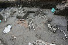 Arheologii au descoperit necropola moscheii Ali Bey in centrul Timisoarei Mosque