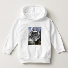 Hoodie Wolves Toddlers - baby birthday sweet gift idea special customize personalize