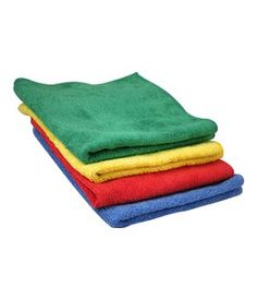 These ultra-soft microfiber towels will lift and trap dirt and moisture, leaving a clean, dry and polished surface. Safe to use on all surfaces, the towels are environmentally beneficial in that they require little to no water, reducing waste. Use them dry, and they will work like magic without scratching, linting, or streaking. Use them wet and they will absorb 7 to eight times their own weight in water. For any environment, microfiber will provide the best sense of clean!