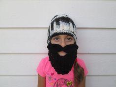Halloween Childrens beard hat long beard hat Beard Beanie beard hats Knit Beard and mustache boy's crochet beard boy's beard hat viking hat