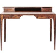 Kare Design Bureau Brooklyn Walnut - X X Cm - Sheesham Kare Design, Brooklyn, Office Desk, Corner Desk, Entryway Tables, Sweet Home, Furniture, Home Decor, Harry Potter