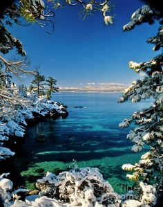 East Shore of Lake Tahoe; photo by Vance Fox