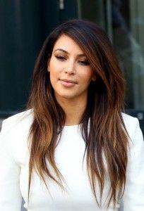 Kim Kardashian Hair Styles