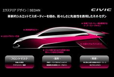 Honda Design|THE 10TH CIVIC DESIGN STORY|SEDAN