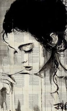 View LOUI JOVER's Artwork on Saatchi Art. Find art for sale at great prices from artists including Paintings, Photography, Sculpture, and Prints by Top Emerging Artists like LOUI JOVER. Art Sketches, Art Drawings, Art Visage, Newspaper Art, Desenho Tattoo, A Level Art, Art Graphique, Portrait Art, Ink Art