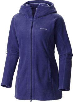 Columbia Benton Springs II Long Hooded Fleece Jacket - Women s 69046e443ac