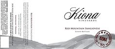 2012 Kiona Vineyards and Winery Red Mountain Sangiovese 750mL ** Check this awesome product by going to the link at the image.  This link participates in Amazon Service LLC Associates Program, a program designed to let participant earn advertising fees by advertising and linking to Amazon.com.