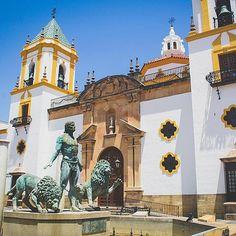 Rhonda, Spain, the birthplace of bullfighting. Photo courtesy of readysetjetset on Instagram.