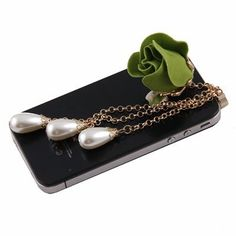 3.5mm Rose Pearl Anti-dust Plug Earphone Dock Cellphone Charm for For iPhone / iPad / iPod Touch / 3.5mm(Green) by IDS. $10.98. you can take a step further by plugging in a Dust Plug in its headphone jack.  Put dust plug into your smartphone, music player or anything with an earphone jack to give it an interest and unique new look!   Let the fun begin!! It's also useful, it prevents dirt from getting into the earphone jack!  You're sure to gain attention with the...