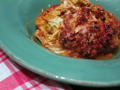 Low Carb Rezepte von Happy Carb: Wirsinglasagne - Ich liebe Lasagne seit jeher, das hat sich auch mit Low Carb nicht geändert.
