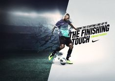 Sacha Waldman: Nike by LEVINE/LEAVITT, via Behance