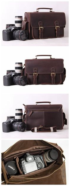 Vintage Genuine Leather DSLR Camera Bag SLR Camera Bag Briefcase Leather Camera Bag 6919 Model Number: 6919 Dimensions: x x / x x Weight: / Hardware Camera Pouch, Dslr Camera Bag, Camera Gear, Leather Camera Bag, Leather Briefcase, Men's Briefcase, Leather Gifts, Leather Bags Handmade, Men's Leather
