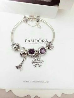 Pandora Jewelry Box, Pandora Bracelet Charms, Cartier Bracelet, Cute Jewelry, Charm Jewelry, Sterling Silver Bracelets, Silver Jewelry, Silver Earrings, Silver Ring