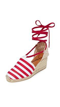 CASTANER | Marine Heritage Wedge Espadrilles #Shoes #CASTANER