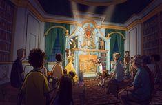 Enchanted Tales with Belle, Magic Kingdom, Walt Disney World