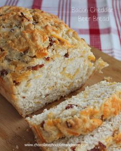 Bacon Cheddar Beer Bread-The addition of Bacon and Cheddar to this bread takes it over the top!