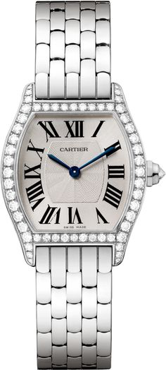 #Cartier Tortue White Gold #Watch