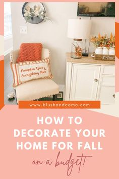 I find decorating my home for fall to be one of my favorite things! I love pulling out the decorations and going shopping for new ones! But, like you, I need buy those things on a budget. So check out my budget friendly fall finds so you can decorate your home seasonally too! #seasonaldecorations #falldecor #howto #budgetfriendlydecoration