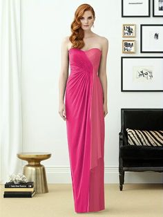 Dessy Collection Style 2956 (shown in azalea)