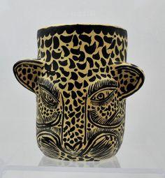 Jaguar Vase Mexico by Teyacapan, via Flickr