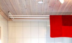 Interiørdetalj - Takmontert tørkestativ - Produkt