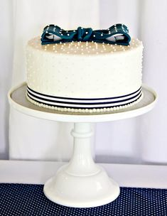 {Pink & Navy} Preppy Tie Birthday Party // Hostess with the Mostess