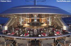 Maltese Falcon - Elena Ambrosiadou's Mega Yacht