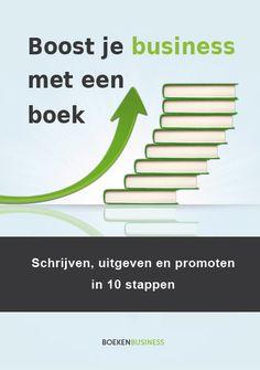 Gratis E-book 'Boost je business met een boek' via Boekenbusiness