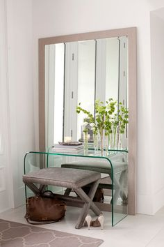 TidBit:  Clean glass and mirrors. Arm yourself with a stack of fresh microfiber cloths and water, or your glass cleanser of choice. Set the timer and make your way from room to room, swiping mirrors, glass tables and windows until the bell rings.